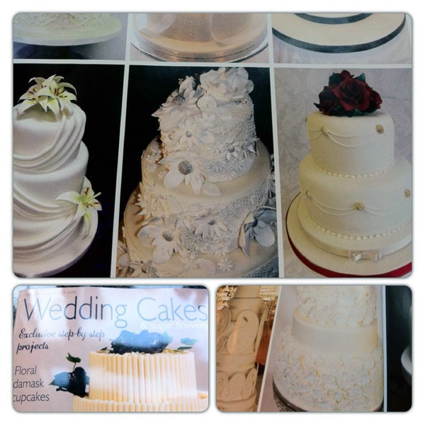 Wedding Cakes & Sugar Flowers Magazine - Bespoke Cakes by Etam